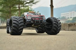 Wholesale Scale Rc Trucks - Wholesale- leopard1:10 Scale Waterproof 4WD strength beyond vkar bison High speed electronics remote control Monster Truck,rc racing cars