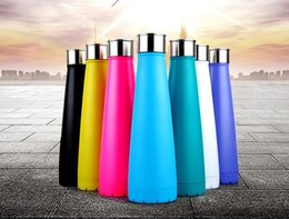 Wholesale Wholesale Mugs For Sale - Cola Shaped Bottle Sports Bottle Portable Stainless Steel Insulated Kettle Mugs for Outdoor 450ml Coke Cups Wine Glasses Hot Sale