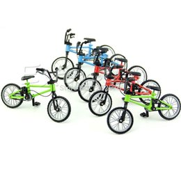 Wholesale New Bmx Bikes - Wholesale-New Functional Finger Mountain Bike BMX Fixie Bicycle Boy Toy Creative Game Gift
