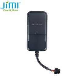 Wholesale Gps Locator Car - Mini GPS tracker GSM GPRS small tracking device vehicle,Geo-fence,tracking web for motorcycle and car best locator tracker JV200