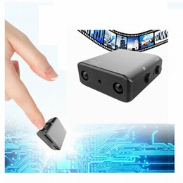 Wholesale Spy Camera Infrared Night Vision - 2017 Newest IR-CUT Camera Smallest 1080P Full HD Camera XD Mini Camcorder Micro Infrared Night Vision Cam Motion Detection DV Spied