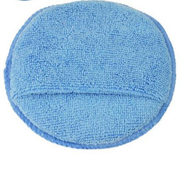 "Wholesale Wax Car Care - Wholesale-10-Pack Car Microfiber Wax Applicator Pads Auto Care Polishing Sponges 5"" Diameter with pocket"