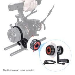 Wholesale Dslr Rod Support - Follow Focus with Gear Ring Belt for DSLR Camera Camcorder DV Video Fits 15mm Rod Film Making System,Shoulder Support,Stabilizer, Movie Rig