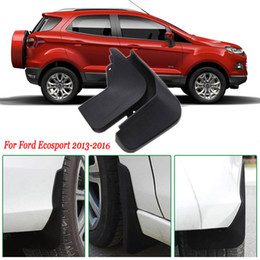 Wholesale Mud Front - 4x Front Rear Car Mud Flaps Splash Guard Mudguard Mudflaps Car Fender For Ford Ecosport 2013-2016
