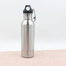 Wholesale Wedding Beer Bottles - Beer Bottle Armour Koozie Keeper Stainless Steel keeper Armour Bottle Koozie Insulator with Bottle Opener 10pcs OOA611