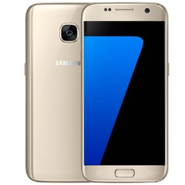 Wholesale Wholesale Cell Phones Usa - Original LCD Refurbished Samsung Galaxy S7 G930A G930T G930P G930V 5.1Inch Quad Core 4G LTE ATT T-mobile USA EU Unlocked Cell Phones