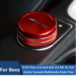 автомобиль с углеродным волокном Скидка Для Mercedes Benz Центральная консоль AMG Мультимедиа Ручка Накладка Крышка Для класса A B E CLA GLA GLK CLS ML GL SLK