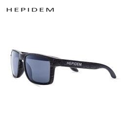 Wholesale Cheap Square Sunglasses For Men - Wholesale- HEPIDEM Women Brand Designer Men's Wood Grain Sunglasses Men Sports Mirror Square Ok Quality Sun Glasses for Women cheap china