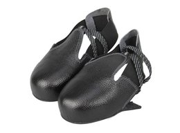 Wholesale Safety Shoes Steel Toe Cap - 1pair Portable Visitor steel toe cap shoes cover Work safety shoes footwear one size fits 36-45