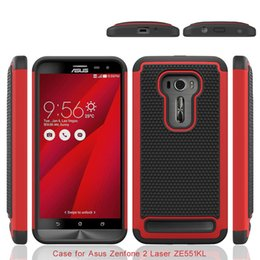 Wholesale Silicone Cover For Asus - Shockproof 2 in 1 Rugged Mesh Rubber CaseFootball Skin Silicone Case Cover For Asus Zenfone 2 Laser ZE551KL ZE551ML