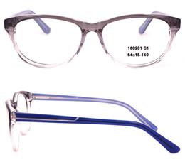 Canada Cadre de lunettes de marque de mode Hommes et femmes Lunettes Optique Lunettes de vue Lentille claire MYOPIA Lunettes de vue à vendre en haute qualité Ovale 160201 cheap eyeglass brand sale Offre