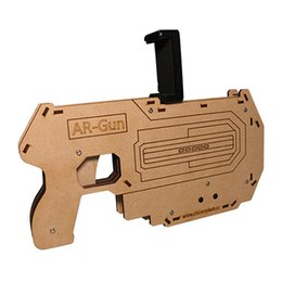 Wholesale Pistol Gun Games - New AR GUN bluetooth game handle Pistol pressure relief shooting toy for All Android iphone phone .