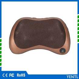 Yentl novo carro doméstico shiatsu massagem dispositivo de travesseiro 8 cabeças de Aquecimento Elétrico Almofada Pescoço Corpo Inteiro Relaxar Massageador uso doméstico Uso Doméstico de