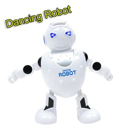 Wholesale Dancing Pet Toys - Smart Dancing Robot Electronic Walking Dance Robots with Music Light for Children Kids Gift Baby Electronics Pet Toys