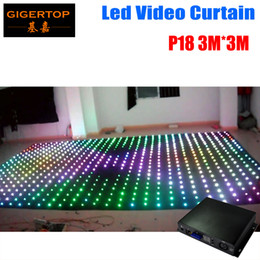 best led rgb full color - Pitch 18 19 20 To Choose 3M*3M LED Star Curtain For DJ Wedding Backdrops 0 Ring Chain Connection 5mm RGB Full Color Pitch 18cm Distance