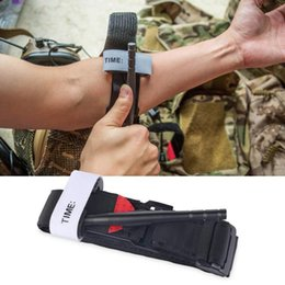 Wholesale First Outdoor - Outdoor First Aid Medical Combat Tourniquet Emergency Tool One Hand Operation Combat Tourniquet Equipment Military OOA3567