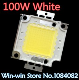 Wholesale Beads Chips - Wholesale- 10pcs LOT 100W LED Integrated High Power Lamp Beads tetragonum White 3000mA 32-34V 8000-9000LM 24*40mil Huga Chip Free shipping