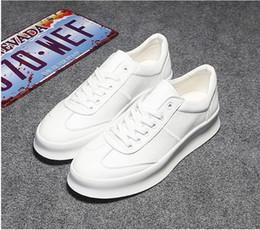 Wholesale Cheap Men Platform Shoes - Cheap man fall leisure platform original quality black red white sneakers men leisure shoes joker white shoe han edition men's casual shoes