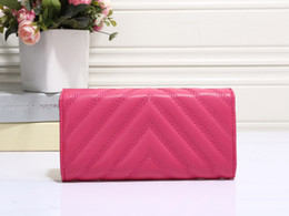 Wholesale Country Standards - Women and men fashion classic wallet high quality leather wallets smaller coin purse passport holder 5 colors 883 free shipping most country