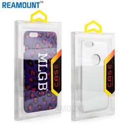 Wholesale Custom Packing Boxes - 100 pcs Transparent PVC Blister Retail Packaging Box For Samsung s7 s7 Edge Phone Case Custom logo Universal Packing box