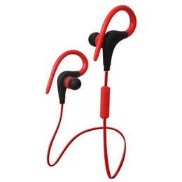 Wholesale White Tour Headphones - BT-1 Tour Earphone Bluetooth Sport Earhook Earbuds Stereo Over-Ear Wireless Neckband Headset Headphone with Mic WITH new PACKAGE dhl free