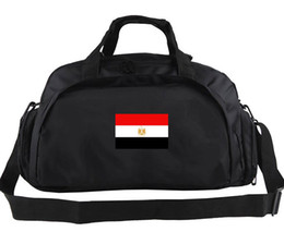 Wholesale Cycling Messenger Bags - Egypt duffel bag Country logo tote Cycling messenger backpack Football luggage Sport shoulder duffle Outdoor sling pack