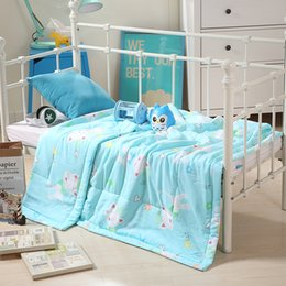 Wholesale Duvet Cover More - Home textile 100% cotton Suitable for Children Kids baby quilt(Duvet cover 1pcs) 120*150 Cartoon comforter cover ice cream Free shipping