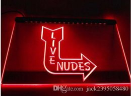 Wholesale Sexy Neon Signs - Live Nudes Sexy Lady Night Bar Beer pub club 3d signs LED Neon Sign