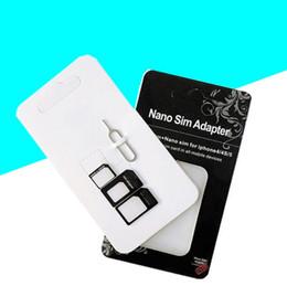 Wholesale Cato Card - Micro SIM Adapter restore card sets 4 sets nano Cato restore Cato custom LOGO Free shipping