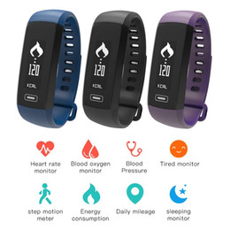 Wholesale Oximeter Ratings - Smart Band M2 Smartband Heart Rate Monitor Pedometer Bluetooth Bracelet Inteligente Pulso Blood Oxygen Oximeter For iOS Android Phone
