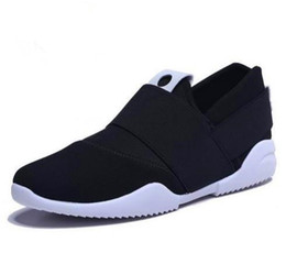 Wholesale Mens Canvas Loafers - cheap free shipping air mesh fabric mens loafers black blue color cloth patchwork leisure canvas shoes for mans cool walk shoes