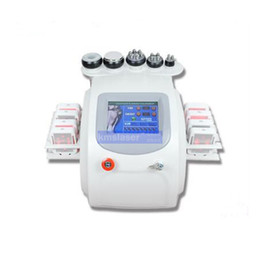 Wholesale Ultrasonic Body Shaping - New arrival ! portable ultrasonic 40k cavitation RF vacuum laser lipo body shaping skin rejuvenation lymphatic drainage machine