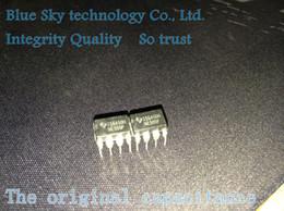 2019 3mm geführtes super helles weiß Wholesale- Freies Verschiffen 100PCS / LOT New NE555 NE555P NE555N 555 Timer DIP-8 TEXAS
