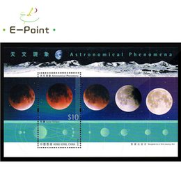 Wholesale Hong Kong Wholesales - Wholesale- Mini Sheet China Hong Kong Postage Stamps 2015 Astronomical Phenomena