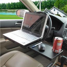 Wholesale Drawer Folded - Wholesale- Car computer desk auto supplies folding computer mount car laptop mount with drawer