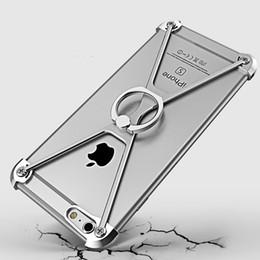 Areja personalizado on-line-Para iphone7 7 plus escudo do telefone móvel de metal quadro iphone6 6 plus air telefone móvel de alumínio capa protetora suporte do telefone móvel personalizado