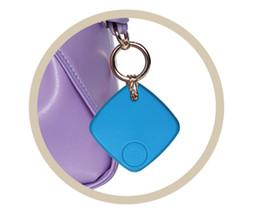 Wholesale Smart Wireless Burglar - Bluetooth Tracker Child Bag Smart Finder Tag Wallet Burglar Alarm Key Finder GPS Locator Alarm 4 Colors Wireless Lost Self Timer for Phone