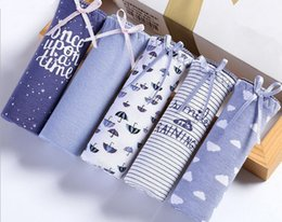 Wholesale Types Women Panties Underwear - High Quality Breifs Women New Multicolors 95%Cotton+5%Spandex Underwear Printing Floral Playful Type Panties