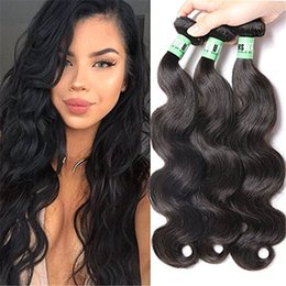 Wholesale Synthetic Body Wave Weave - Brazilian Body Wave Hair Afro Body Wave Weave Synthetic Hair Brazilian Body Wave Brazilian Hair Weave Bundles