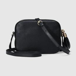 Wholesale Green Genuine Leather Shoulder Bag - 2017 new Women Leather Soho Bag Disco Shoulder Bag Purse 308364