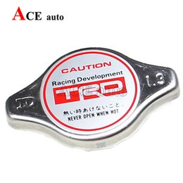 Wholesale Ace High Wholesalers - Wholesale- Ace speed-Universal RACING Thermost Radiator Cap Brand Version TRD water Tank cover Radiator Cap cover High pressure Big   Small
