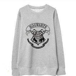 Wholesale Women Coats Fat - New 2017 Women Hoody Plus Size Autumn Winter Hot Sale Sweatshirts Harry Potter Print Pillovers Coat Big Size Fat Woman Hoodies