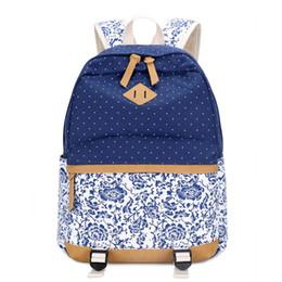 Wholesale Vintage Bag Packs - Women Backpack for School Teenagers Girls Vintage Stylish School Bag Ladies Backpack Female Purple Back Pack High Quality