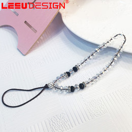 Wholesale Cell Phone Strap Rhinestones - Free shipment Best Cheap Price Bling Crystal Rhinestone Hand Strap Lanyard for universal Mobile cell phone