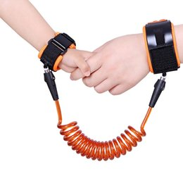 child safety bracelets Coupons - JINSEY Safety Child Anti Lost Wrist Link Harness Strap Rope Leash Walking Hand Belt Traction bracelet A-0458