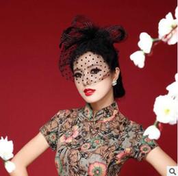 2019 bilder haare stirnbänder Blumen-Hut-Kopfschmuck-Parteilaufbahnbühnenphotographie des Brautschleiers Blumenrequisiten weiße Gazefeder erwachsene Zeremoniekopfverzierungen