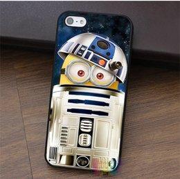 Wholesale Iphone Case Star Minion - Despicable Me Minions Inside Star Wars R2D2 fashion phone case for iphone 4 4s 5 5s 5c SE 6 6s 6 plus 6s plus 7 7 plus #LI0778
