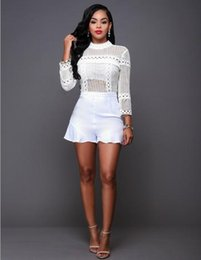 Wholesale Womens Turtle Necks - Casual Dresses Exotic Apparel Sexy Womens Jumpsuit Mesh Dress Sexy Lingerie One Piece Dress Sexy Dresses Womens Clothing Long Sleeves Dress