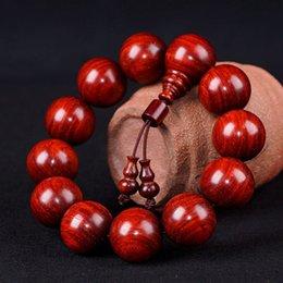 Wholesale Quality Venus - Sunyata High Density Lobular Red Sandalwood, Venus Bracelets Unisex 20mm Quality