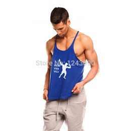 Wholesale Zyzz Singlet - Wholesale- Man Singlet work out Bodybuilding Professional Fitness Men clothing Tank top Vest ZYZZ Muscle Shirts Clothing Regata Musculati